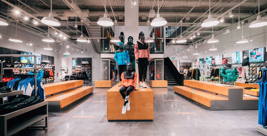 This is your first look at Vancouver's new Foot Locker Power store (PHOTOS)