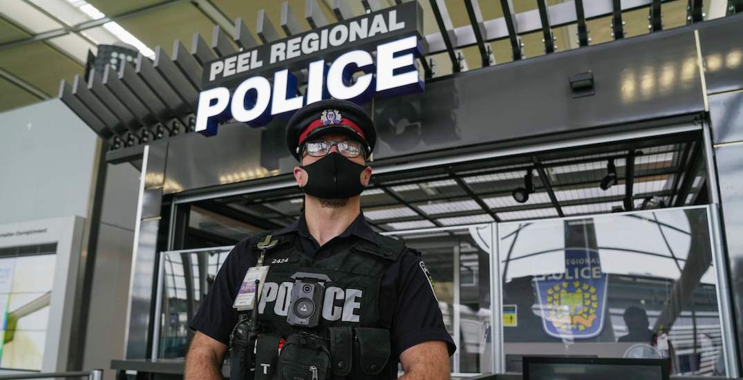 Peel Police equips frontline officers with body-worn cameras