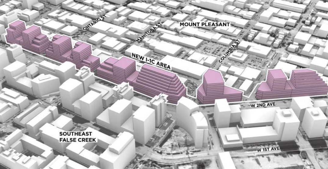 Vancouver envisions new job space density along 2nd Avenue in Mount Pleasant