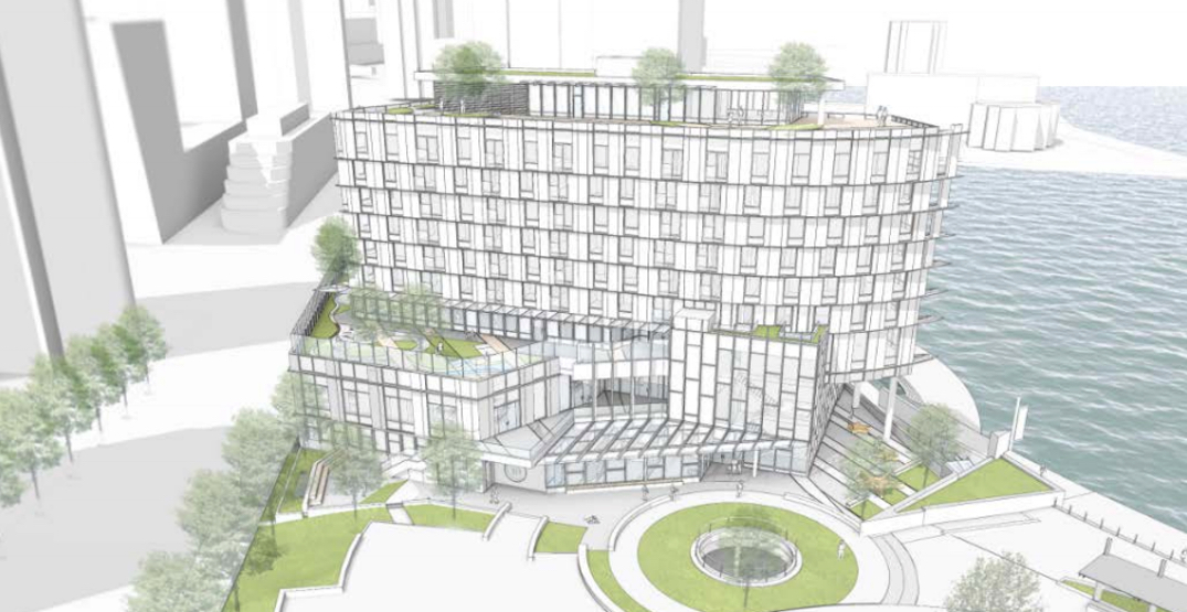 City of Vancouver planning new $81-million Coal Harbour social housing and elementary school building