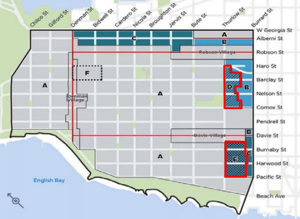west end burrard corridor rental policy 1