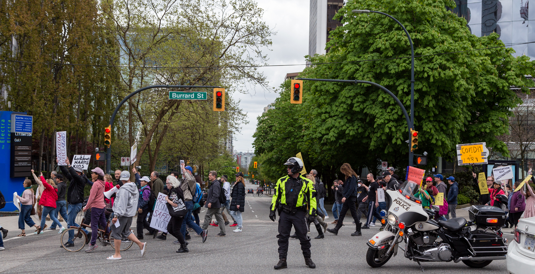 "Vancouver Police say they're ""aware"" of planned anti-lockdown protests"