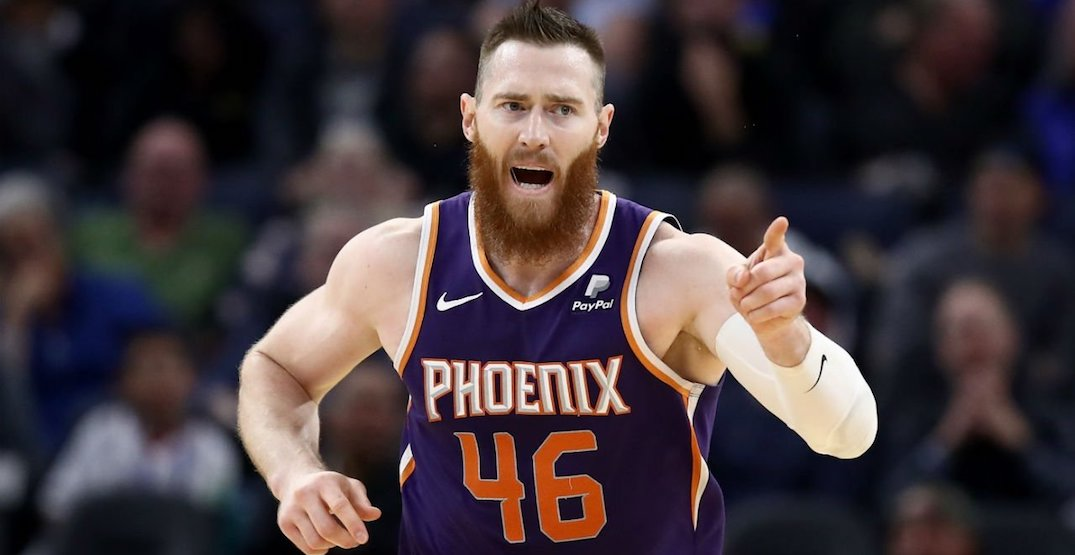 Raptors sign free agent centre Aron Baynes to $14.3M contract
