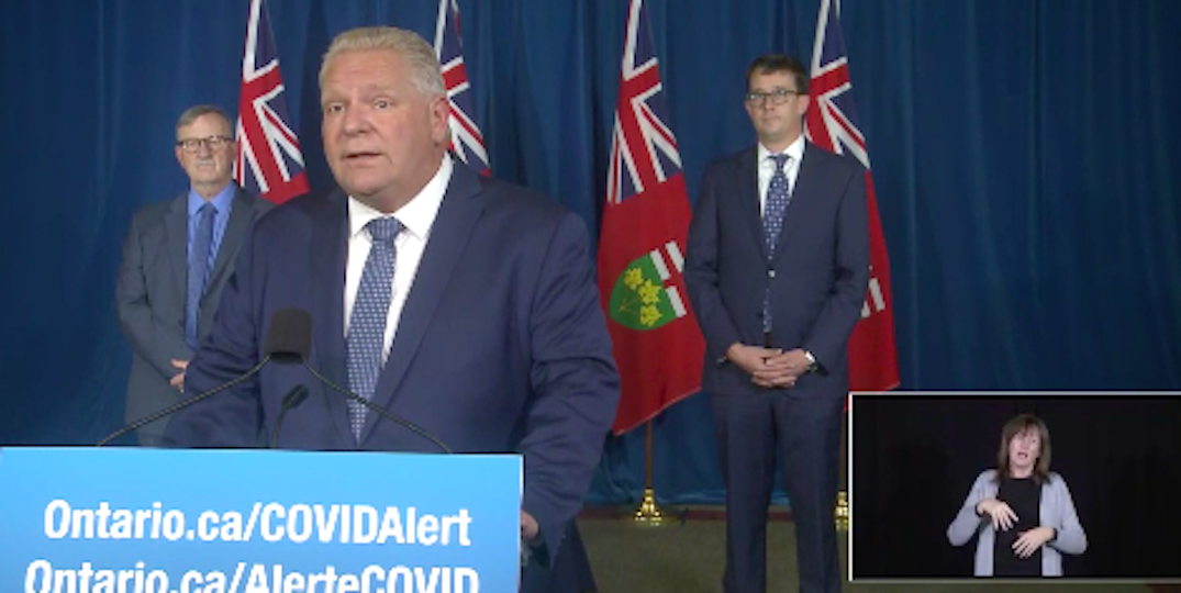 Ford to give announcement this afternoon as Toronto enters another lockdown