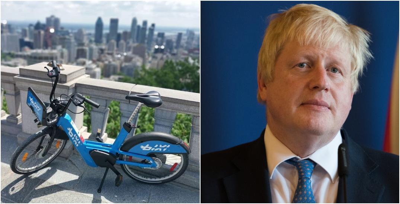 UK prime minister gives kudos to Montreal's BIXI bikes