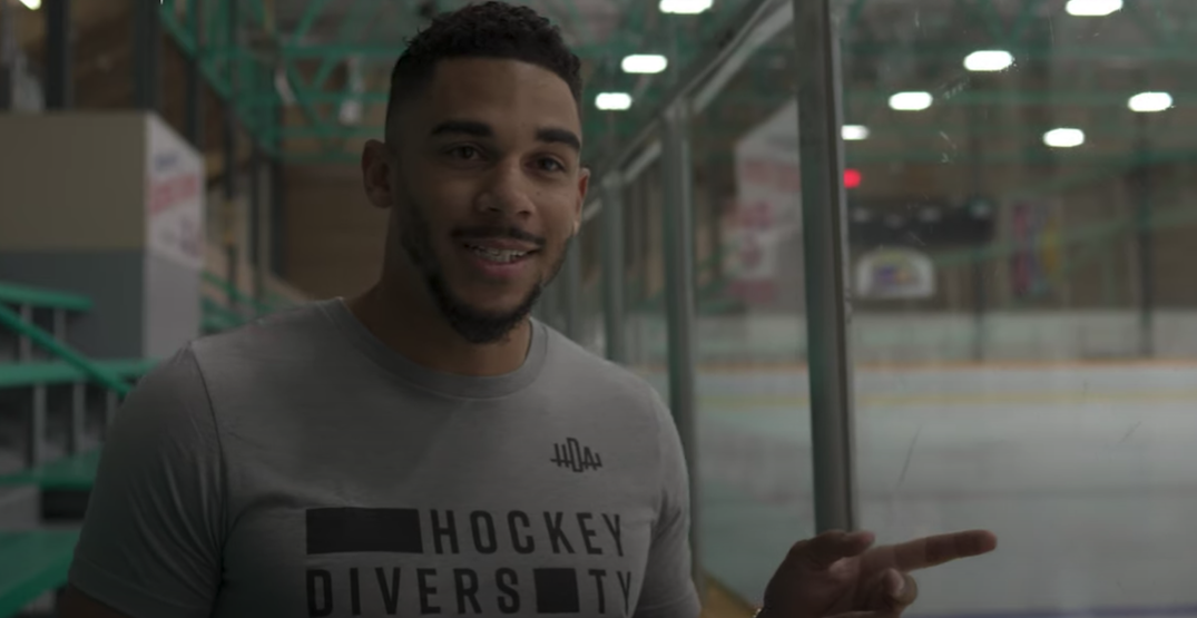 Evander Kane recalls racist incident with minor hockey parents in East Van