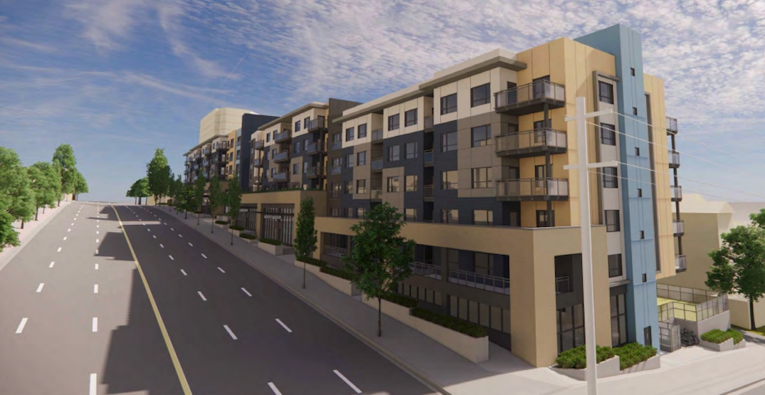 161 non-market rental homes proposed for East Hastings in Burnaby Heights