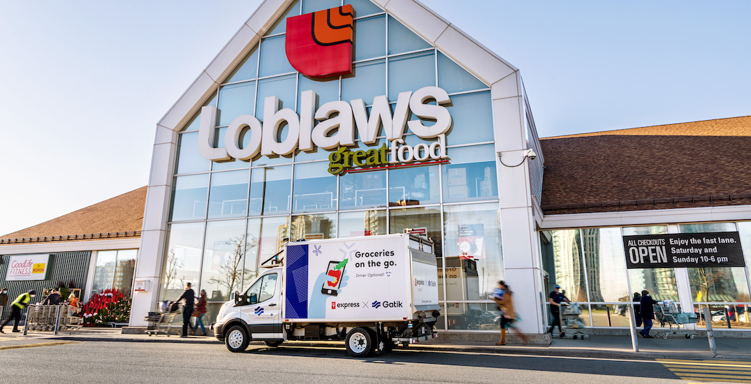 Loblaws deploys first ever self-driving delivery truck in Canada