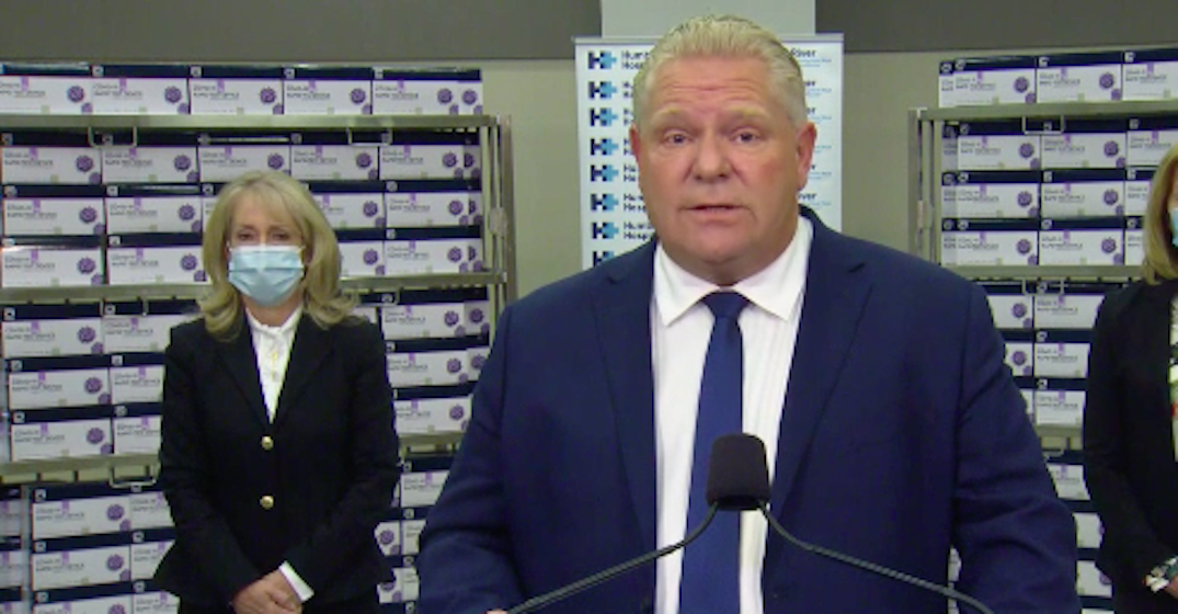 Ford to make announcement with Minister of Long-Term Care today