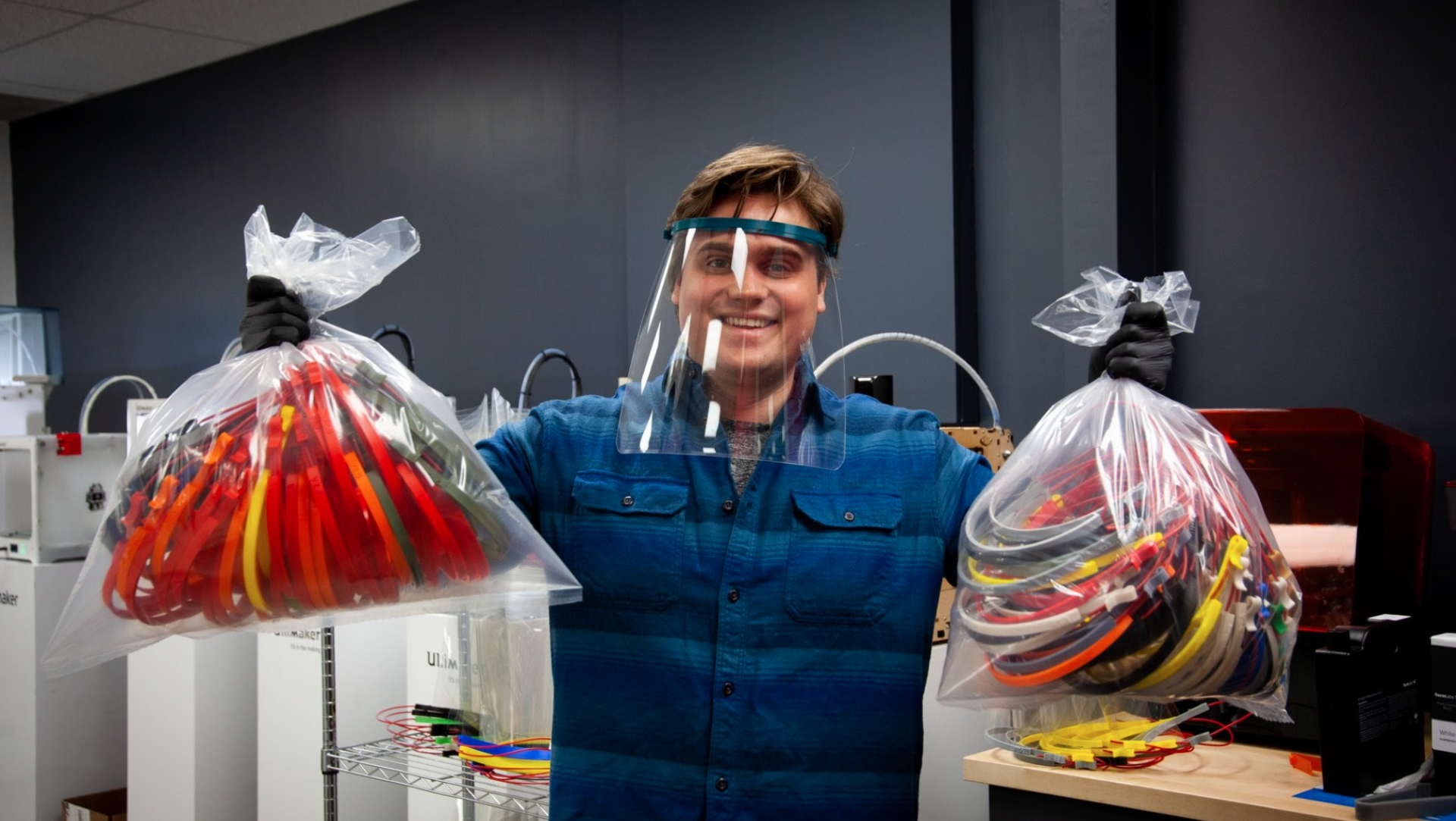 Librarians repurpose 3D printers to create free PPE for frontline workers
