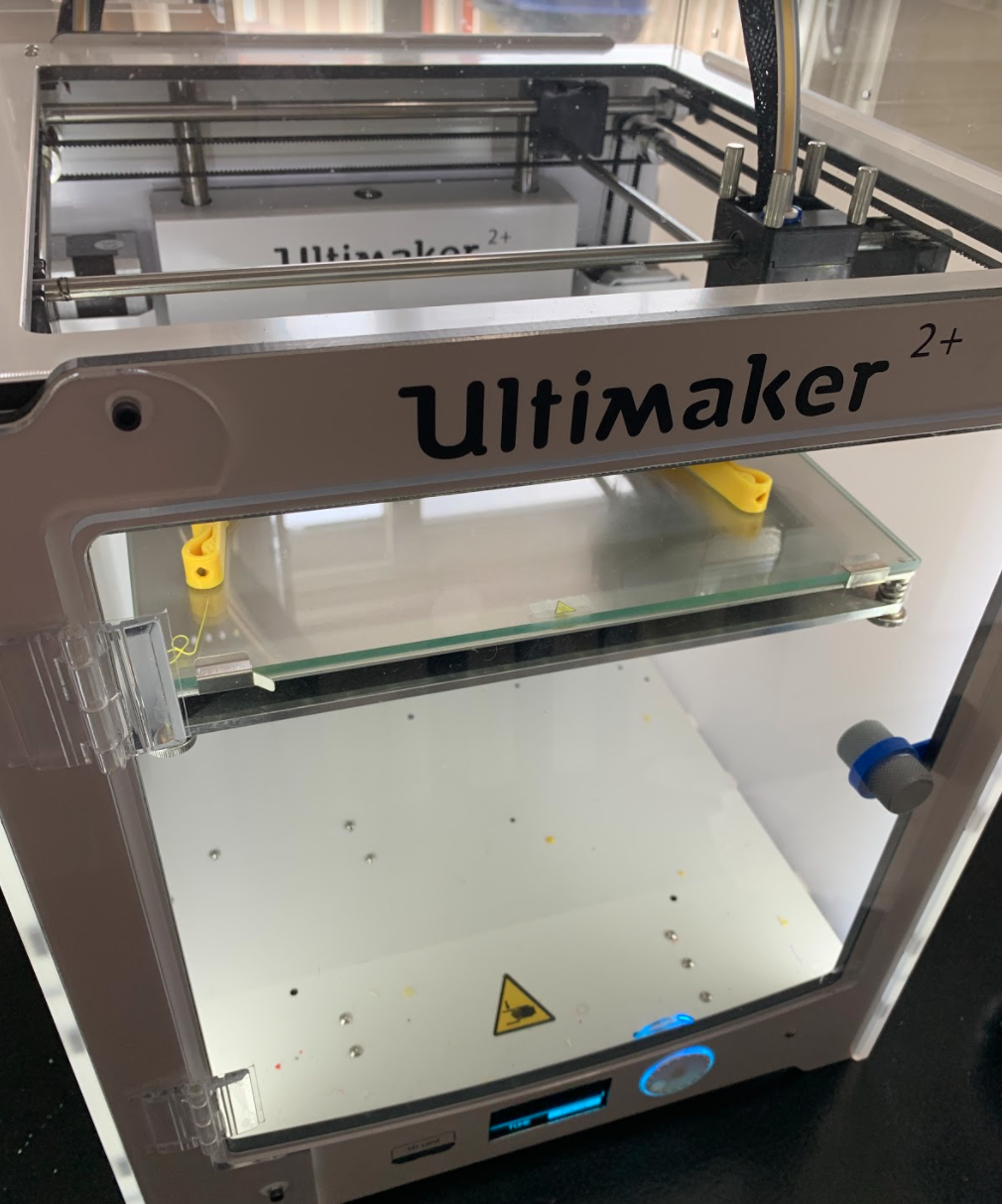 3D printer used to make PPE