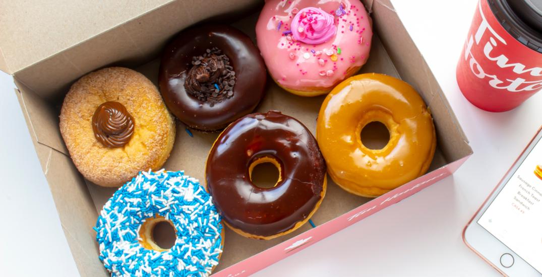 Tim Hortons is offering 6-packs of donuts for $0.60 on November 26