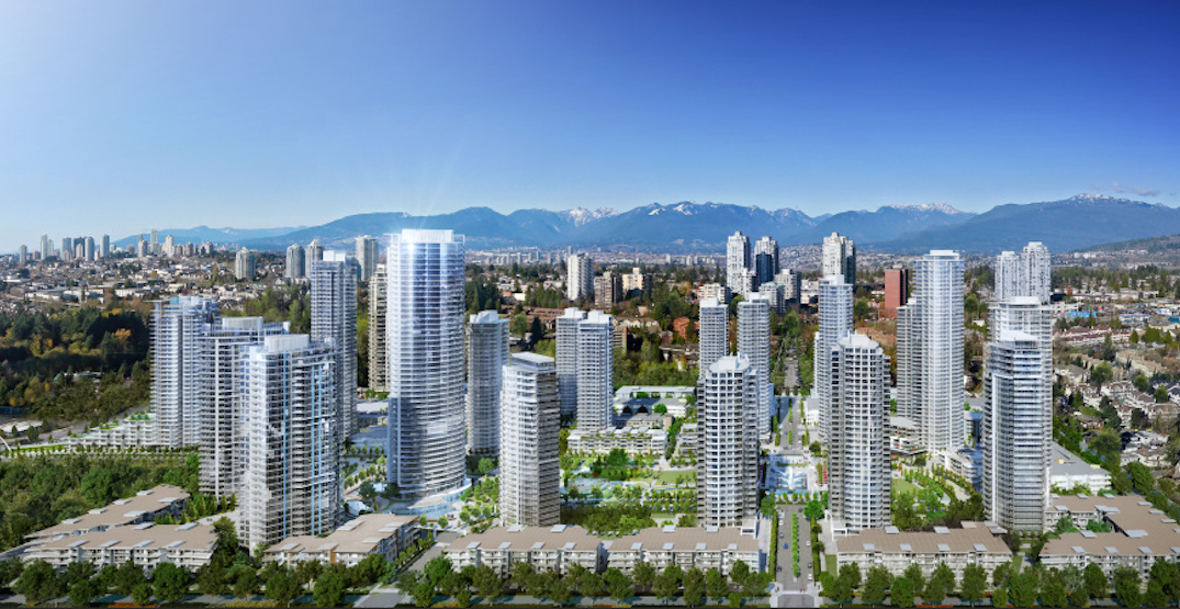 Next phase of Burnaby's Southgate City includes 37-storey non-market rental tower