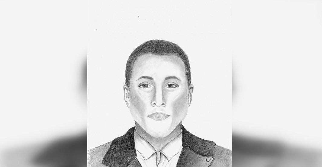 Calgary Police Service release sketch of sexual assault suspect