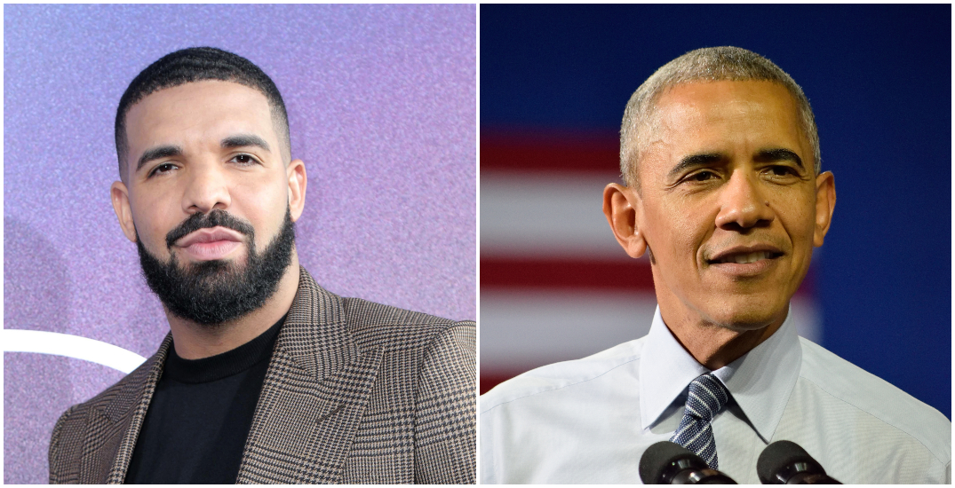 """Drake has Barack Obama's """"stamp of approval"""" to portray him in a movie"""