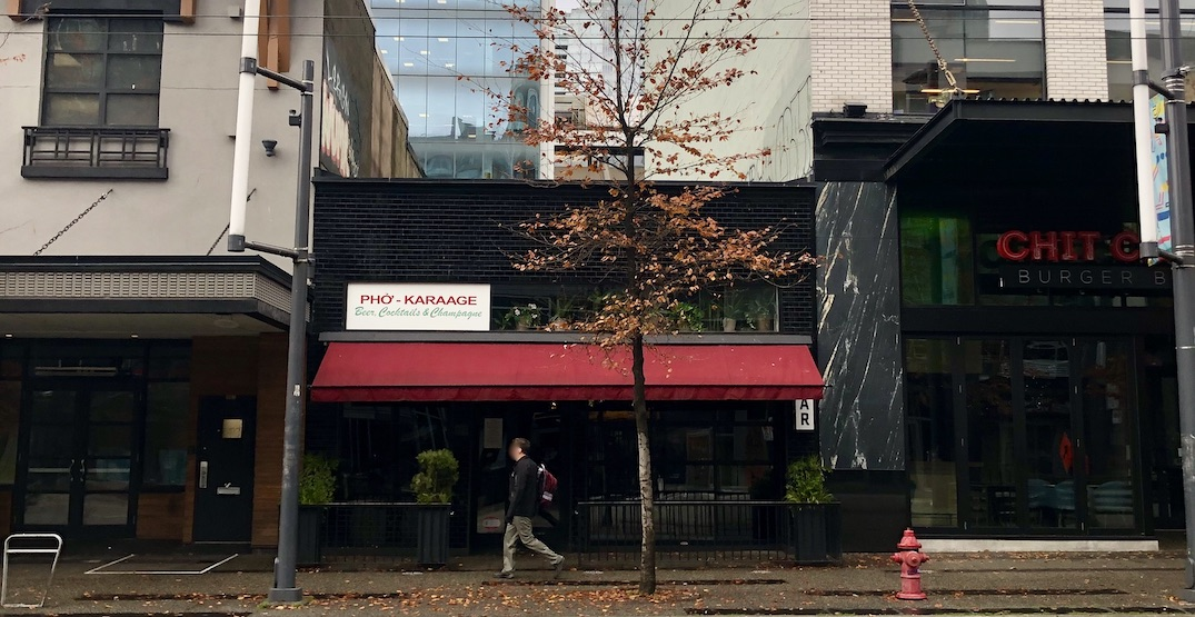 Pho Sho Granville pops up in downtown Vancouver