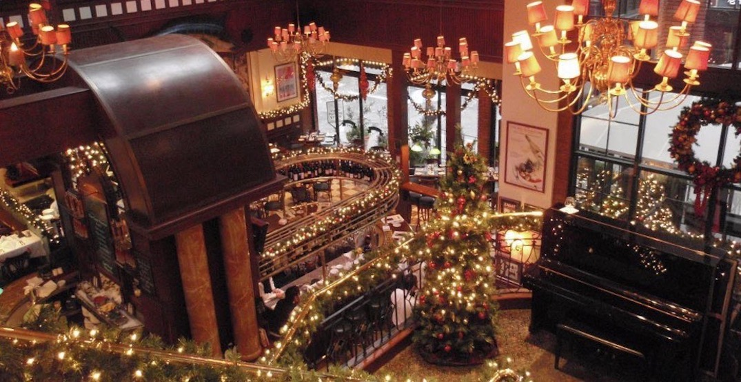 5 festive holiday restaurants to dine at this season in Vancouver