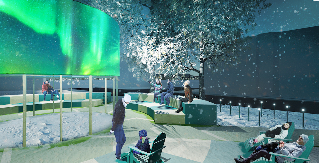 Outdoor furniture, lights to be set up as 'winter stations' across Montreal