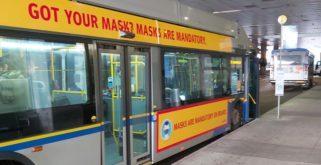 Mask-less transit riders can now be fined $230