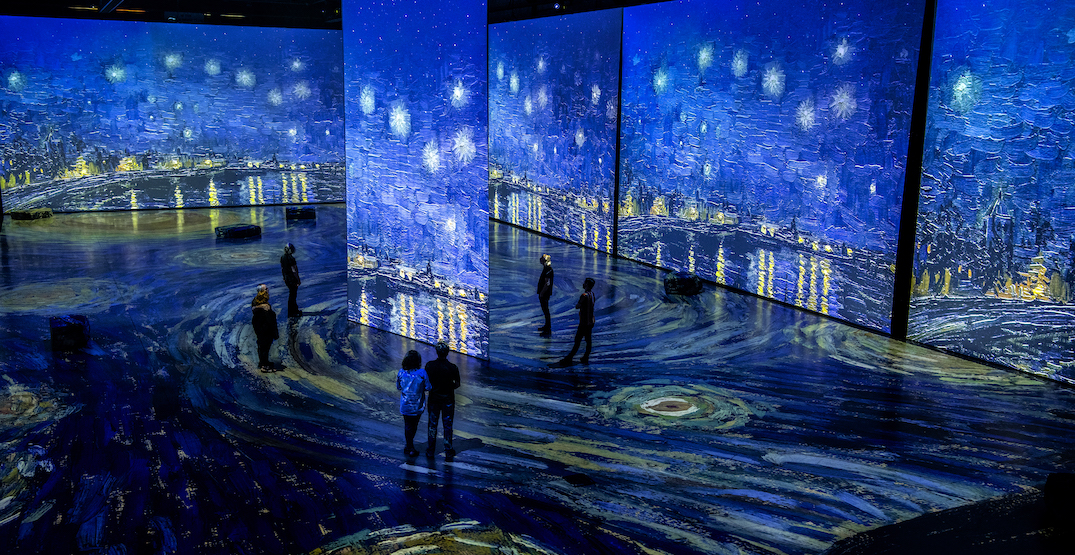 Reimagined Van Gogh experience coming to Edmonton this spring