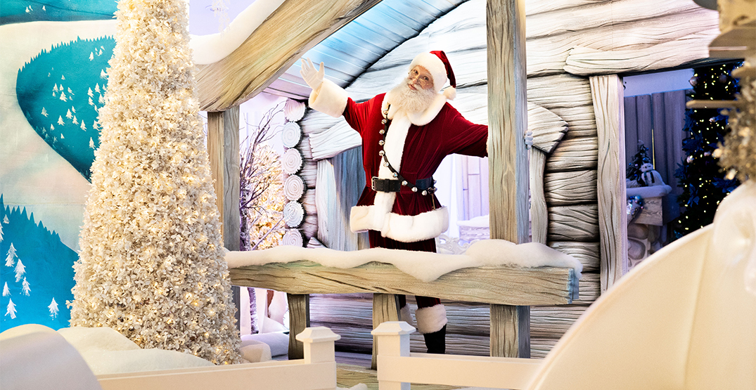 West Edmonton Mall offering physically distanced photos with Santa