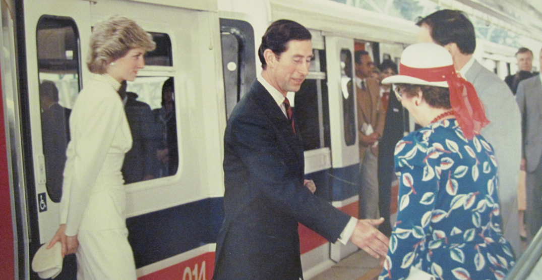 That time Princess Diana visited Vancouver and rode SkyTrain (PHOTOS, VIDEOS)
