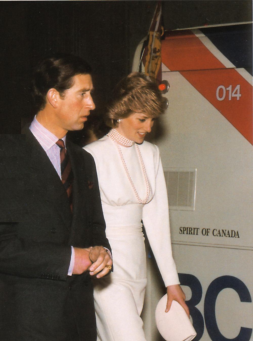 princess diana prince charles skytrain 1986