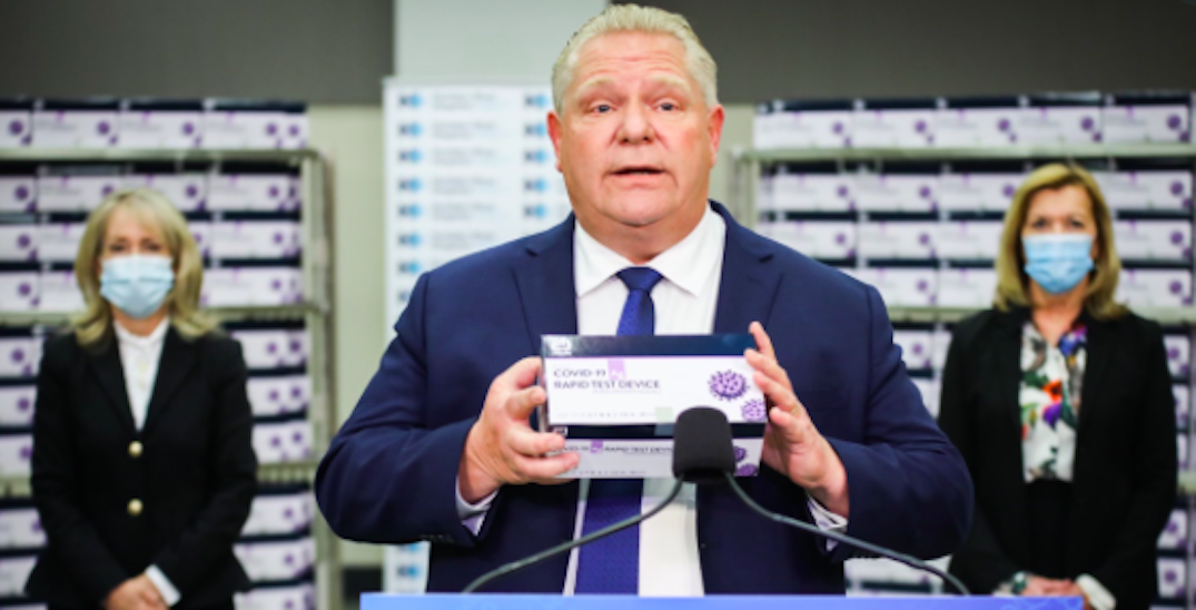 Ford expected to make province-wide lockdown announcement as COVID-19 cases rise