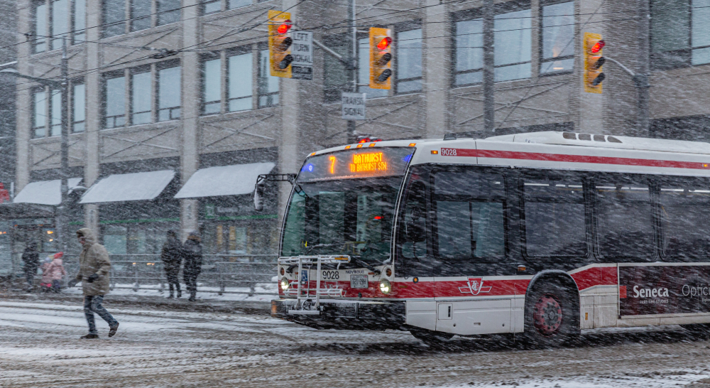 Winter Weather Travel Advisory in effect ahead of snowfall in Toronto