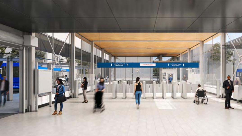 SkyTrain Broadway Subway Broadway Extension Arbutus Station