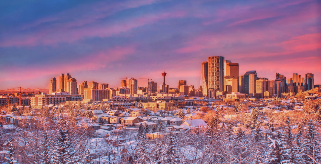 Calgary just saw an absolutely stunning sunrise this morning (PHOTOS)