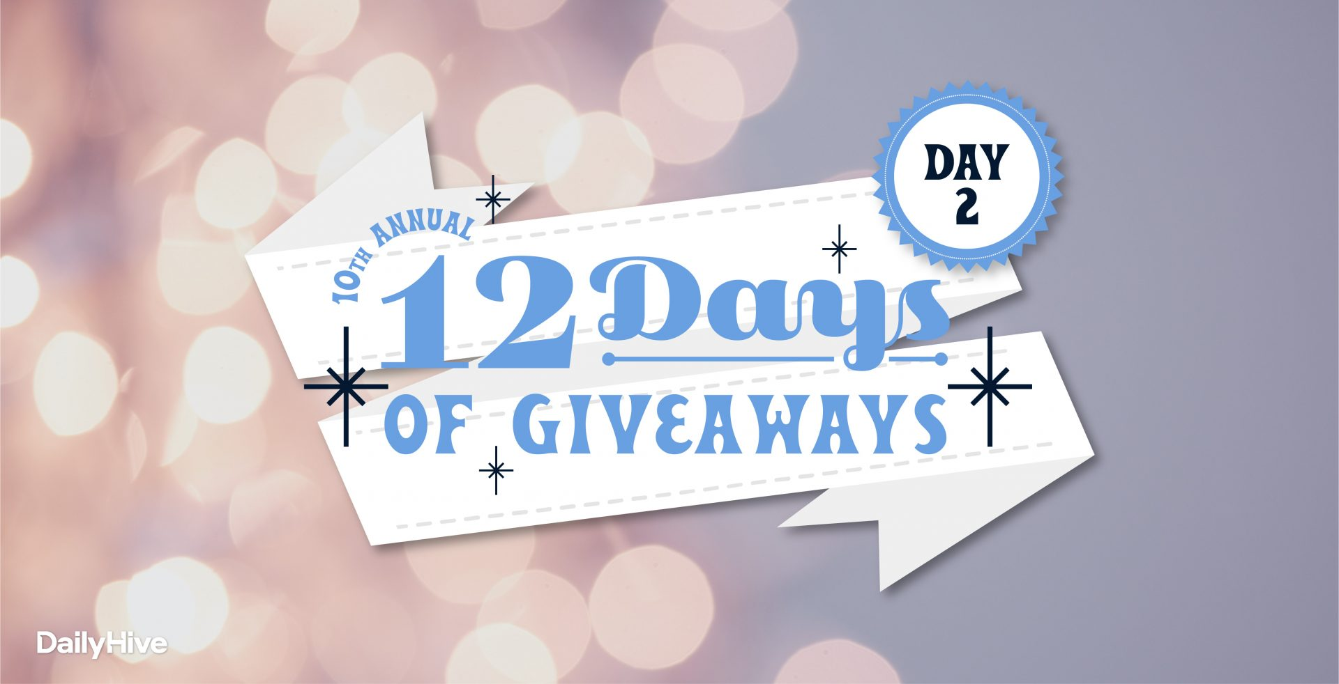 12 Days of Giveaways: VIP Vancouver Staycation with your Bubble at Sheraton Vancouver Wall Centre