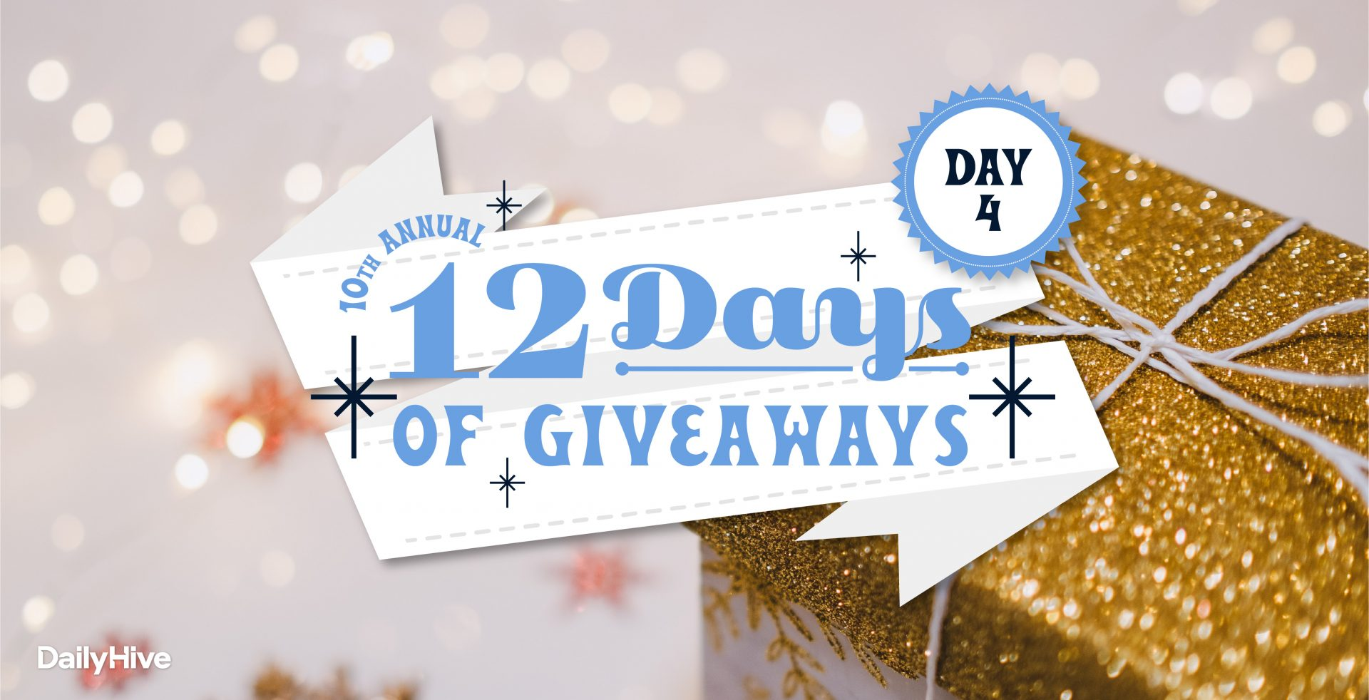 12 Days of Giveaways: Heavenly Holiday Stay at The Westin Bayshore