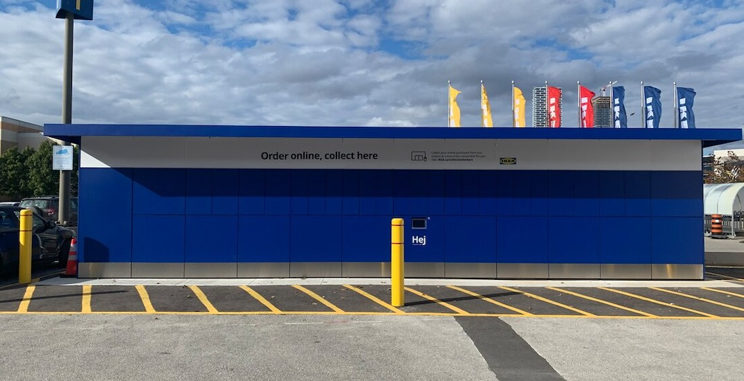 You can now pick up items from GTA IKEA locations 24/7 without entering stores