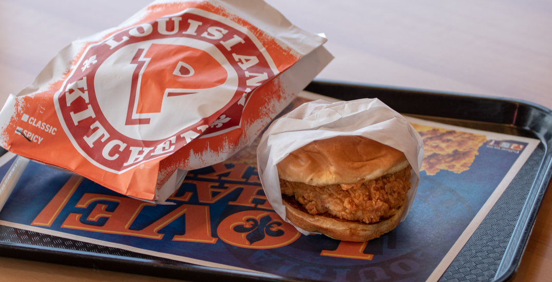 Popeyes Chicken just opened a brand new Surrey location