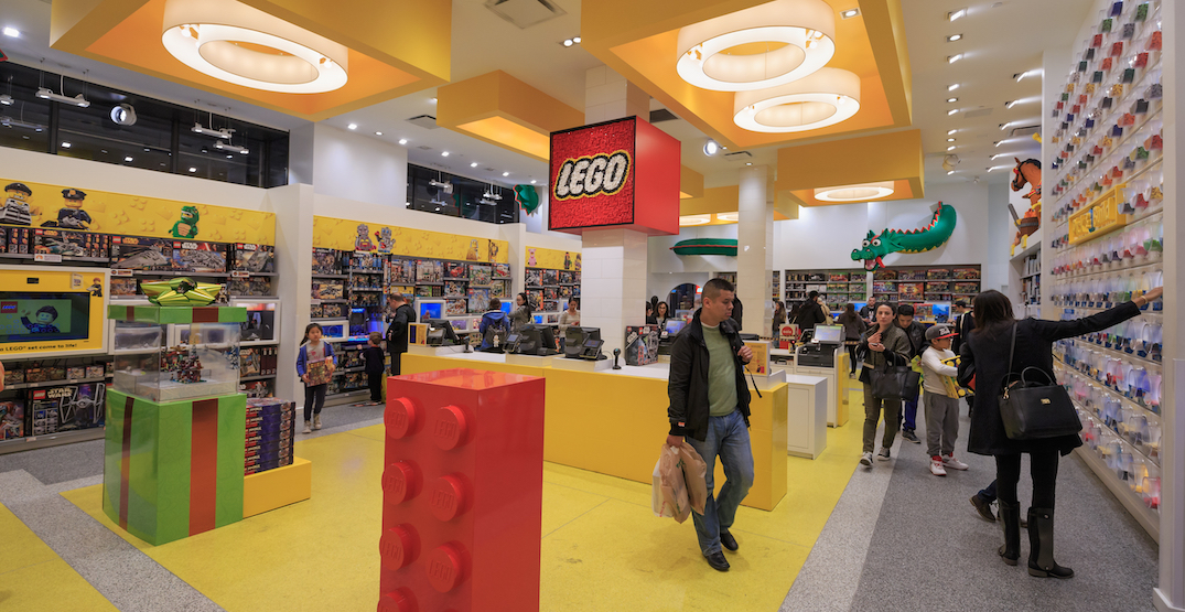 LEGO hints at new Metro Vancouver store location