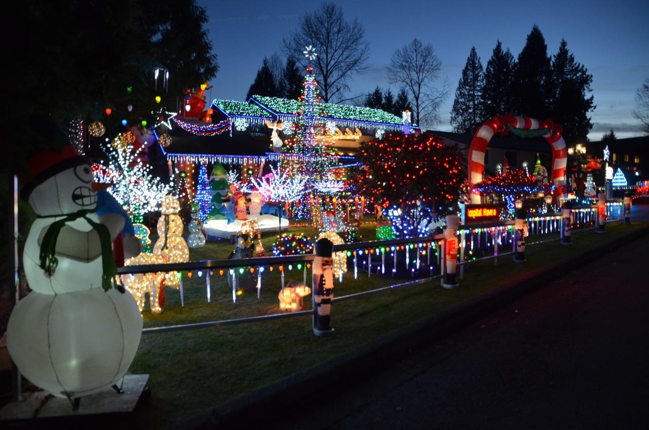 christmas lights burnaby