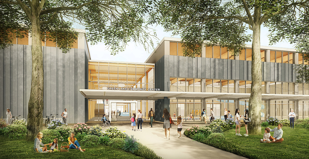 A first look at Seattle's new Green Lake Community Center and Pool
