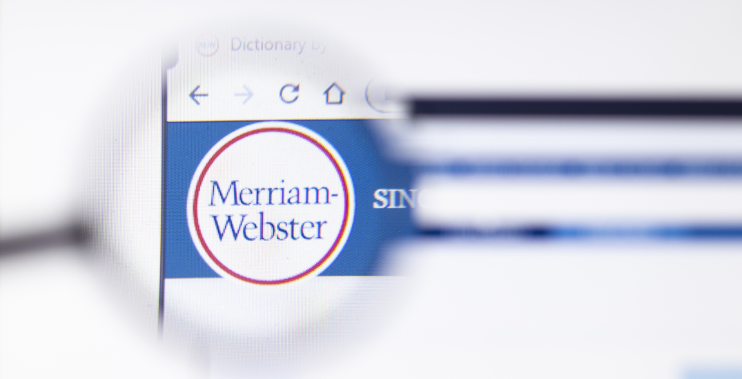 """Merriam-Webster announces """"pandemic"""" is the 2020 Word of the Year"""