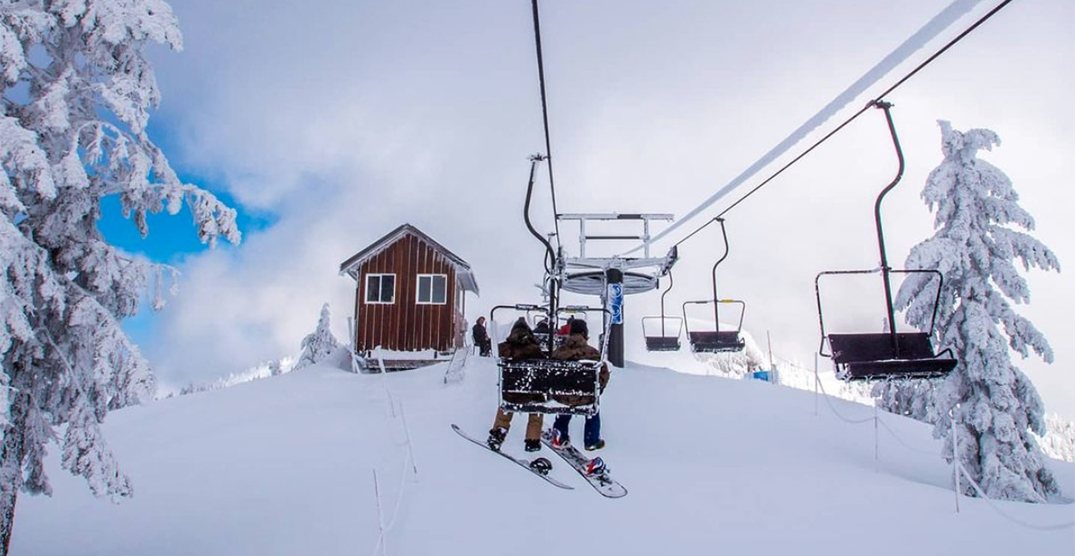 Mt Seymour officially opens for skiing and snowboarding today