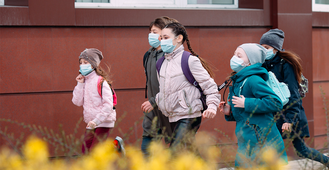BC's school mask mandate for K to 12 students, staff starts today