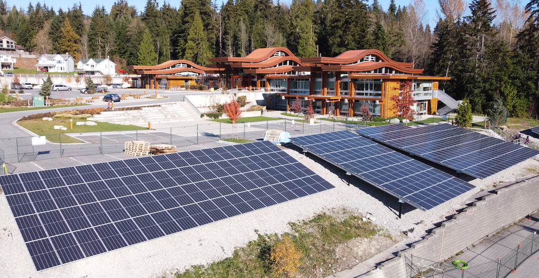 tsleil-waututh nation north vancouver solar panels