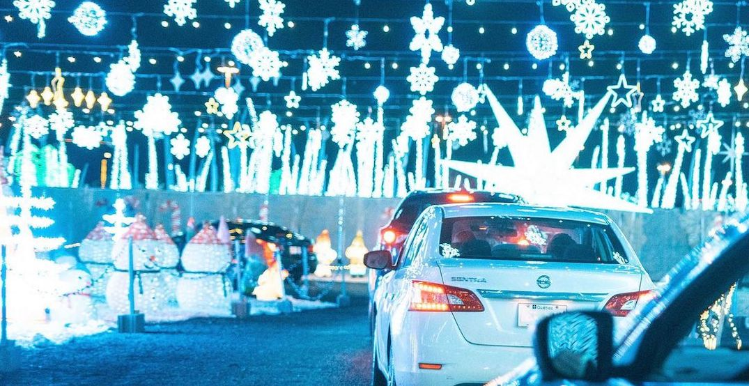 Holiday lights drive-thrus and Christmas markets to check out in Montreal this weekend