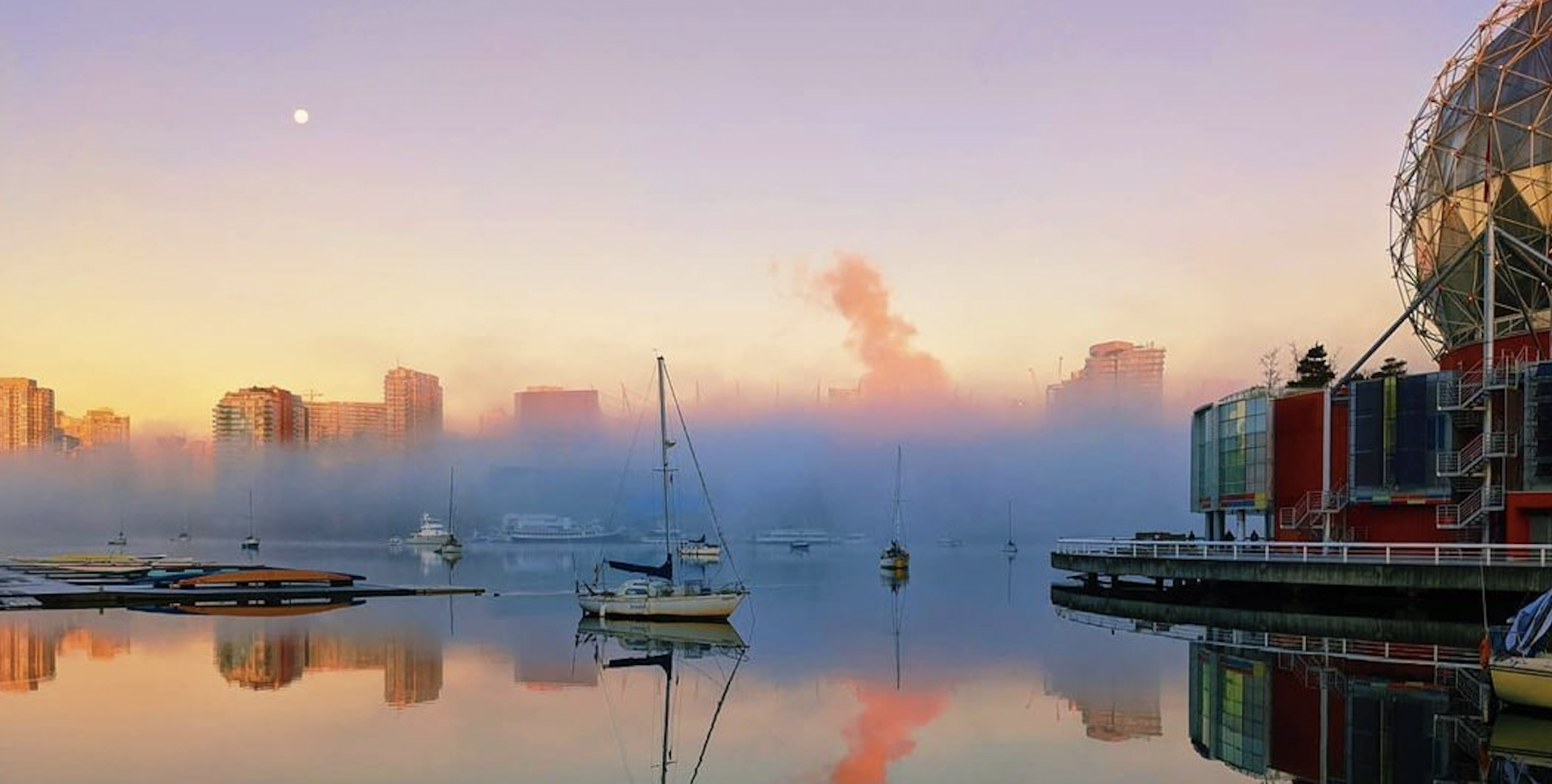 Fog blanketed over Vancouver this morning and it was a gorgeous sight (PHOTOS)