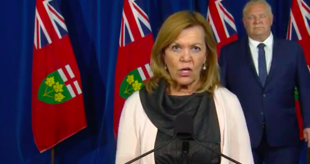 "Ontario health minister says hospitals are ""not in crisis"" amid second COVID-19 wave"