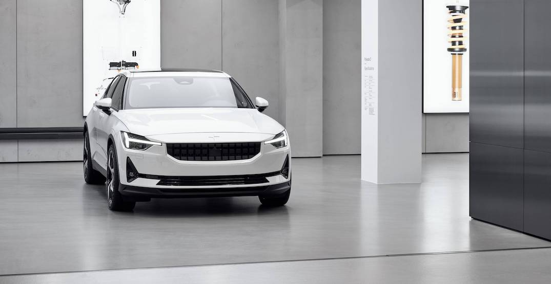 Swedish electric car company Polestar opening downtown Vancouver showroom