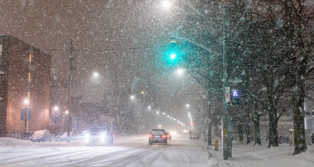 """""""Snowy blast"""" set to hit southern Ontario slowing commute times"""