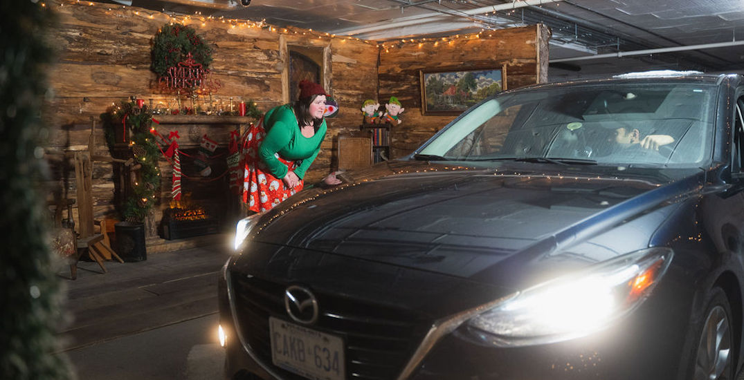 This Christmas drive-thru escape game brings holiday fun to the GTA