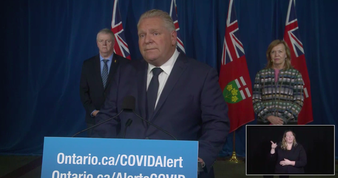 Ford set to announce rollout of COVID-19 vaccine this afternoon