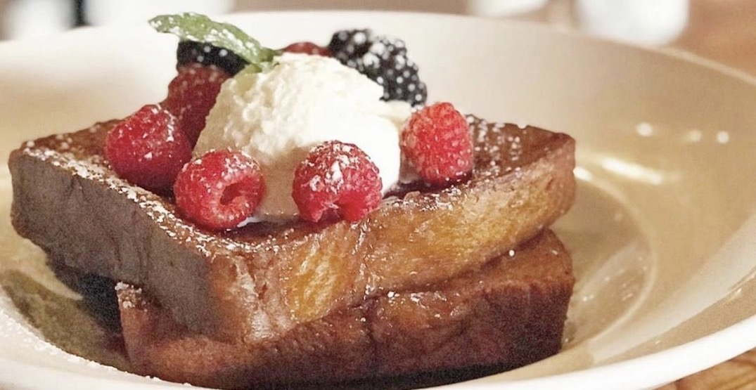 The Flying Pig is offering half-price brunch December 12 to January 1
